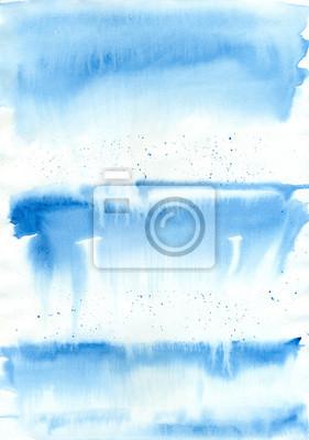 Akwarele tła (niebieski rozmyte smugi)