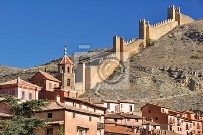 Albarracin, średniowieczne miasto w Teruel, Hiszpania