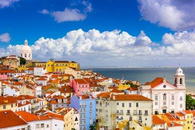 Obraz Alfama Lizbona Pejzaż