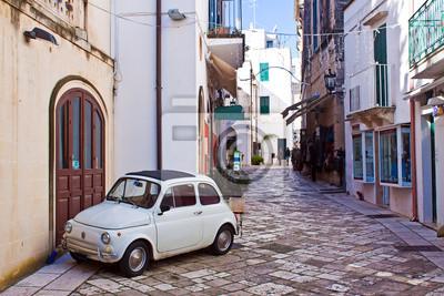 Obraz alleyway of Otranto, Italy
