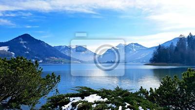 Obraz Alpine Niebieski