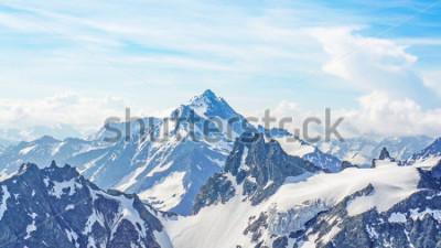 Obraz Alpy z szczytu Titlis