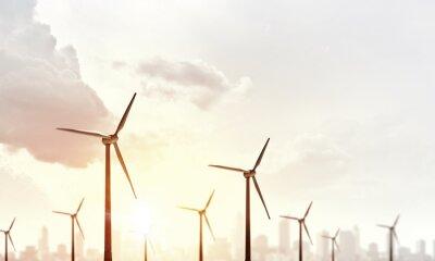 Obraz Alternatywna energia wiatrowa