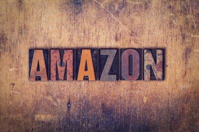 Obraz Amazon Concept drewniane prasą Rodzaj