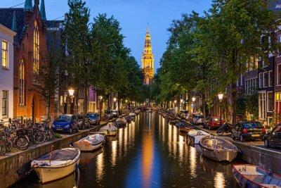 Obraz Amsterdam canals
