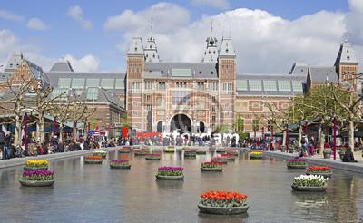 Obraz Amsterdam góry