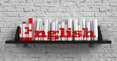 Obraz Angielski. Edukacji Concept.