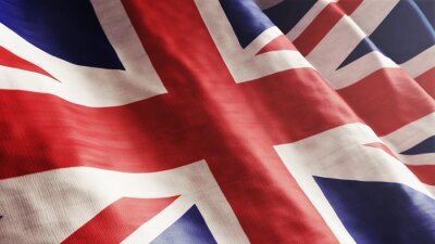 Obraz Angielski Flaga
