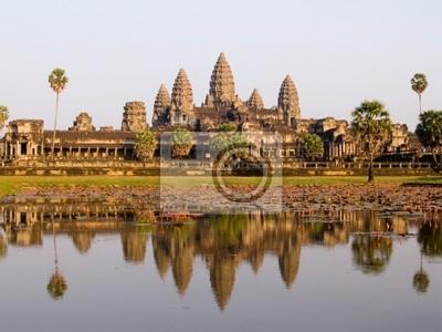 Angkor Wat w wieczornym świetle