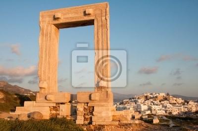 Apollo brama w Chora, Naxos, Grecja
