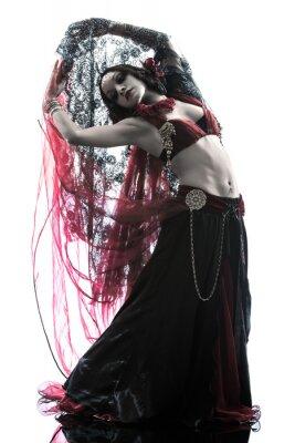 Obraz Arabski taniec brzucha tancerka kobieta