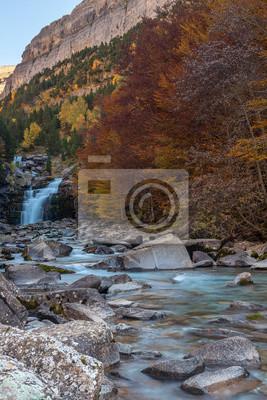 Arazas River at Gradas of Soaso, Ordesa and Monte Perdido National Park, Huesca, Spain
