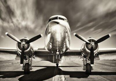 Obraz archiwalne samolot