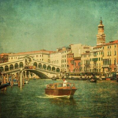 Obraz Archiwalne zdjęcie z Grand Canal, Wenecja