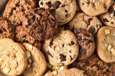 Obraz Assorted cookie Zbliżenie