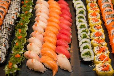 Obraz Assorted japońskie sushi