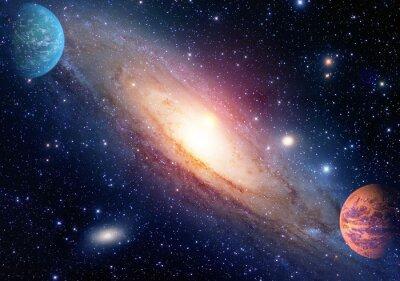 Obraz Astrologia astronomia kosmos Big Bang tworzenie układu słonecznego planet galaktyki. Elementy tego zdjęcia dostarczone przez NASA.