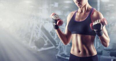 Obraz Athletic dziewczyna