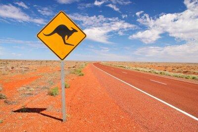 Obraz Australijskie drogi niekończące