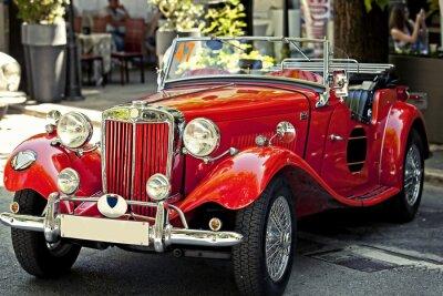 Obraz auto d'epoca in esposizione