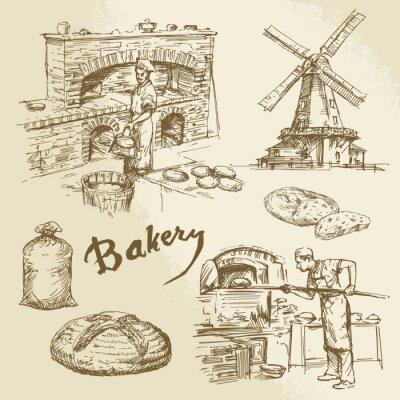 Obraz baker, bakery, bread