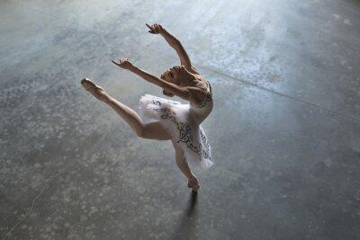 Obraz Ballerina w pomieszczeniu