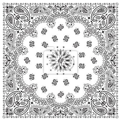 Obraz BANDANA-WHITE