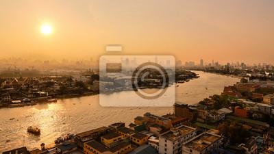 Bangkok w godzinach porannych