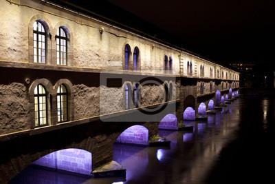 Barrage Vauban most w Strasburgu, Francja