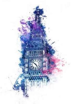 Obraz Barwny obraz Big Ben
