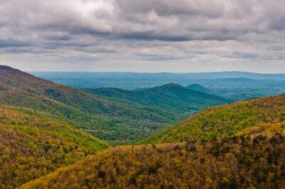 Obraz Beautiful Views from the Appalachian Trail, Shenandoah National Park, Virginia, USA