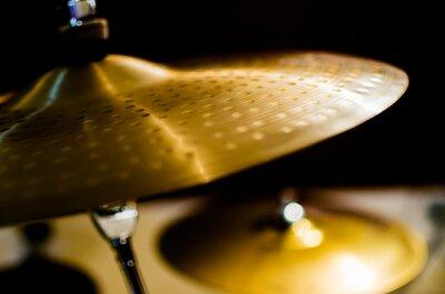 Obraz Bębny, Talerze i Instrumenty