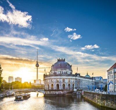 Obraz Berlin, Niemcy Scena na Wyspie Muzeów