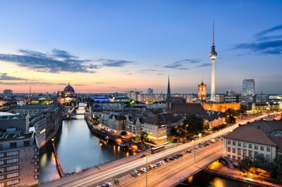 Obraz Berlin skyline panorama