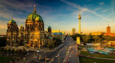 Obraz Berlin - widok na miasto