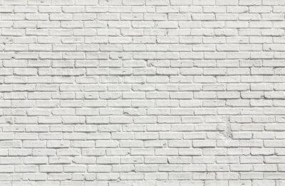 Obraz Biały mur ceglany