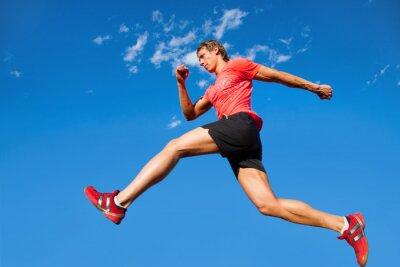 Obraz biegacz
