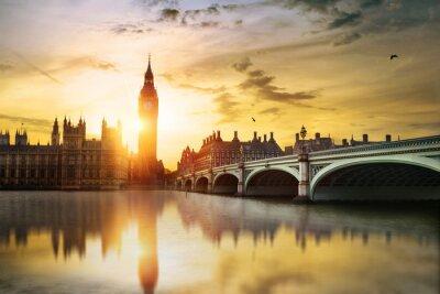 Obraz Big Ben and House of Parliament