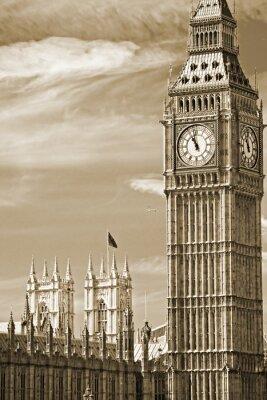 Obraz Big Ben ,House of Parliament i Westminster Bridge