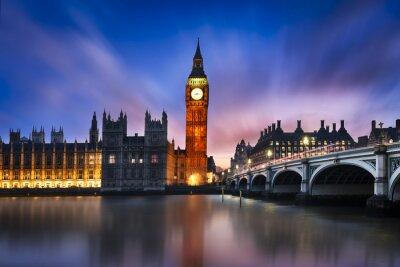 Obraz Big Ben i House of Parliament