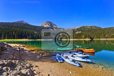 Black Lake (Crno Jezero) w Durmitor - Czarnogóra
