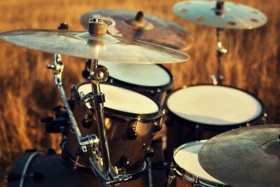 Obraz Bliska Thin Crash na perkusji