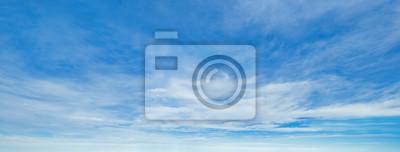 Obraz Blue sky background with clouds