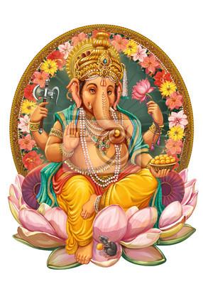 Obraz Bóg Ganesha.