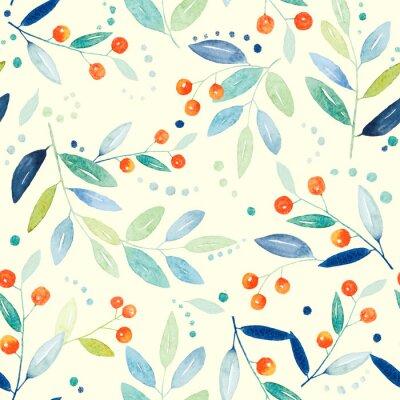 Obraz Botaniczna szwu wzór