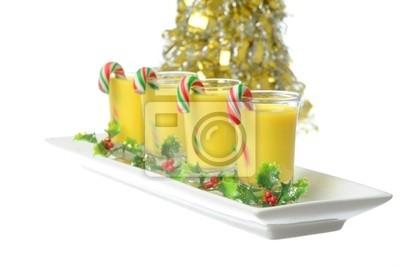 Boże Narodzenie Eggnog Cocktail