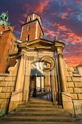 Brama w starym zamku