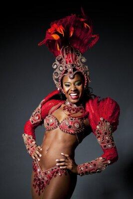 Obraz Brazylijska Samba Dancer