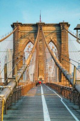 Obraz Brooklyn Bridge w Nowym Jorku