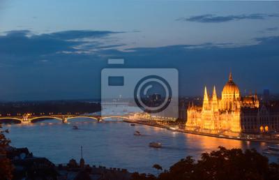 Budapeszt - widok w nocy